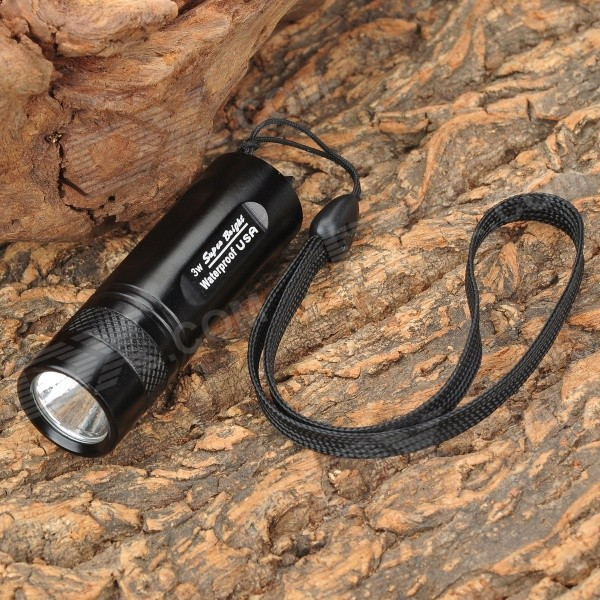 3W P4 CR123A Flashlight