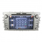 "LsqSTAR 7"" Android 4.0 auto DVD-soitin w / GPS, TV, RDS, Wi-Fi, PIP, SWC, BT, 3D UI, Dual Zone Ford Focus"