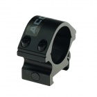 ACCU 25mm Universal Aluminum Alloy Gun Mount Holder Clip Clamp - Black (2 PCS)
