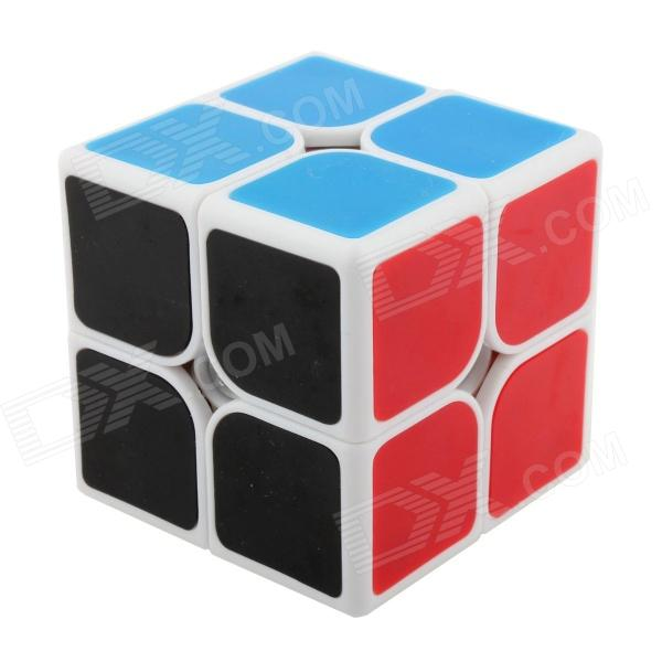 Fangshi(Funs) ShiShuang 2 x 2 x 2 Brain Teaser Magic IQ Cube - White (50 x 50mm) shengshou cube 2 x 2 x 2 mini cube black base fun educational toy