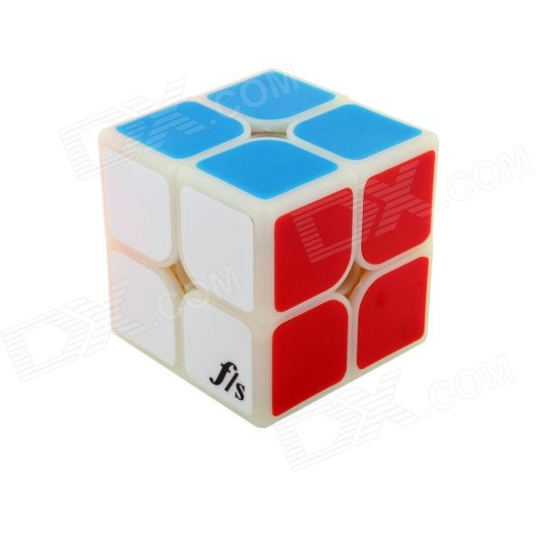 Fangshi(Funs) ShiShuang 2x2 Magic IQ Cube (50x50mm) dayan 5 zhanchi 3x3x3 brain teaser magic iq cube white
