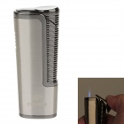 COHIBA 5374 Mini Portable Jet Flame Strong Fire Windproof Lighter - Silver