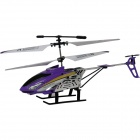 Xinhangxian S039G 3.5-CH Rechargeable R/C Helicopter w/Gyro - Purple + Black + Yellow