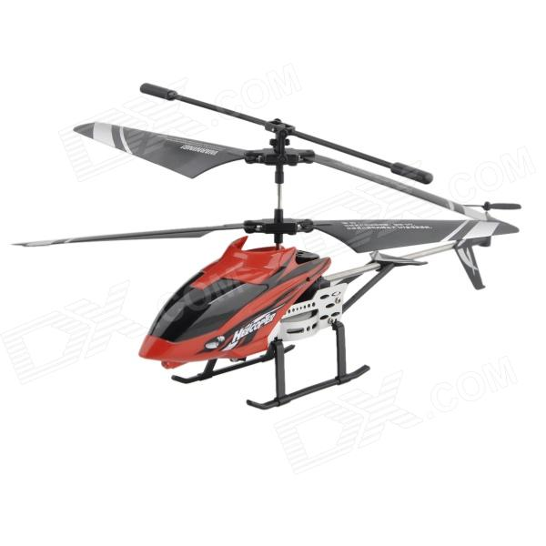 Y-HELI 3.5-CH IR Remote Controlled R/C Helicopter w/ Gyro - Black + Red