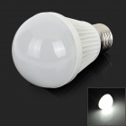 E27 3W 180lm 6500K 3528 SMD LED White Light Bulb (AC 110~240V)