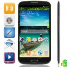 "U658 MTK6582 Quad-Core Android 4.2.2 WCDMA Bar Phone w/ 6.5"" HD, FM, Wi-Fi and GPS - Black"