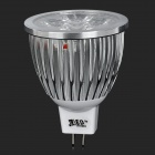 JRLED MR16 GX5.3 5W 320LM 6500K 5-LED de luz branca Spotlight (12V)