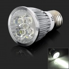 E27 5W 550lm 5-LED Cool White Light Spotlight (AC 85~265V)