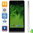 "Haipai P6s MTK6582 Quad-Core Android 4.2.2 WCDMA Bar Phone w/ 5.0"" HD, Wi-Fi, GPS - Black + Silver"