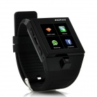 "1.54"" Touch Screen Dual-Core Android 4.0 Wearable Smart Phone Watch w/ Camera/ Wi-Fi, US Plugs"