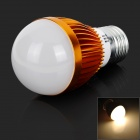 E27 3W 140lm 3000K LED Warm White Light Bulb (220V)