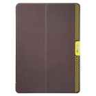BASEUS Protective PU Leather Case Stand w/ Auto Sleep Cover for Retina Ipad AIR - Dark Brown