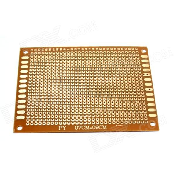 PCB79 1.2mm 7 x 9cm Bakelite PCB Circuit Boards - Dark Orange (5 PCS)  pcb79 1 2mm 7 x 9cm bakelite pcb circuit boards dark orange 5 pcs