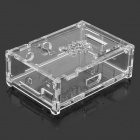 Raspberry Pi C Protective Acrylic Case Enclosure Computer Box - Transparent + White