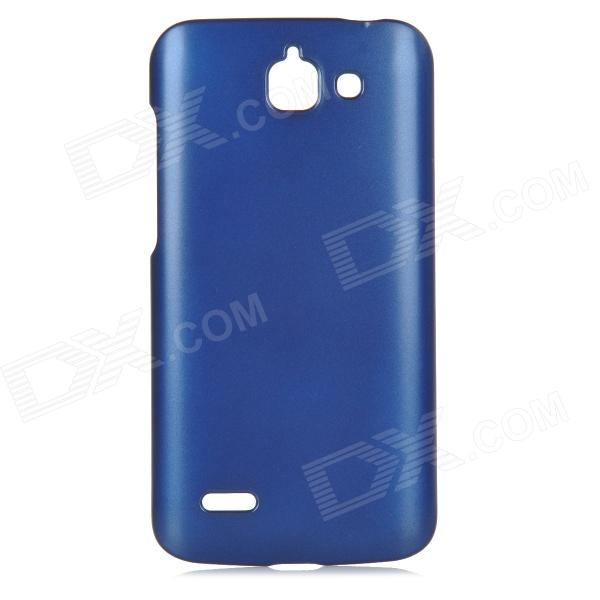 PUDINI LX-G730 Protective PC Back Case for Huawei G730-U00 - Dark Blue pudini lx g730 protective pc back case for huawei g730 u00 dark blue