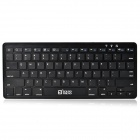SOUND FRIEND SF-K302 Ultra-Thin Rechargeable Wireless Bluetooth V3.0 78-Key Keyboard - Black