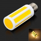 E27 7W 350lm 3000K LED COB Warm White Light Mais-Lampe (AC 220 V)