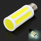 E27 7W 350lm 6500K COB LED White Light Corn Lamp (AC 220V)