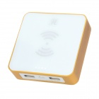 Hualaishi HB-13 6000mAh QI Wireless-Standard-Portable Power Bank für Handys (100-240V)