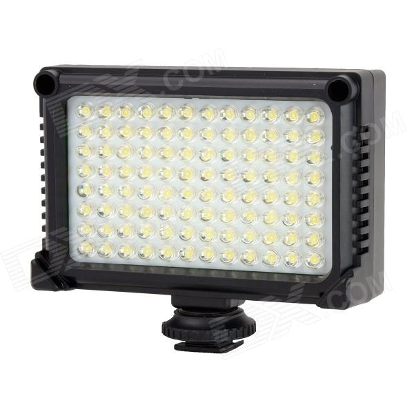 T99 5W 500lm 5500K / 3200K 96-LED Photoflood Lamp / Luminaire for Camera / Camcorder