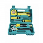8-in-1 Household Hardware Tool Kit - Yellow