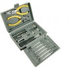 Household Hardware Tool Kit - Silver (24 PCS)