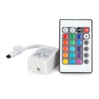12V LED Bulb LED Stripe Remote Controller - White