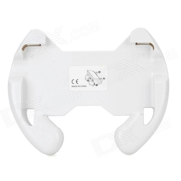 Plastic Hand Grip / Controller Case for 3DS - White