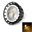 MR16 3W 180lm 3000K Warm White Light Spotlight (DC 12~24V)