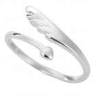 Angel Wing Style Silver Ring for Women - Silver
