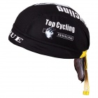 TOPCYCLING 07 Cyclisme protection UV Sweat-absorbants Hat - Noir + Jaune