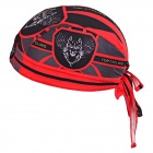 TOPCYCLING 07 Cycling UV Protection Sweat-absorbent Hat - Black + Red