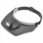 2-LED Headlamp with 5-set Magnifier Glasses