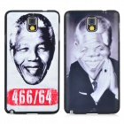 Nelson Mandela Pattern Protective PC Back Case for Samsung Note 3 N9000 (2PCS)