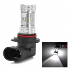 HJ-9006-8W2323 9006 8W 800LM 6500K White Light Samsung 2323 SMD LED w/ Convex Lens Car Light