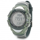 Foxguider FX702B Outdoor Fishing Barometer Altimeter Tracking Gear Digital Watch - Army Green