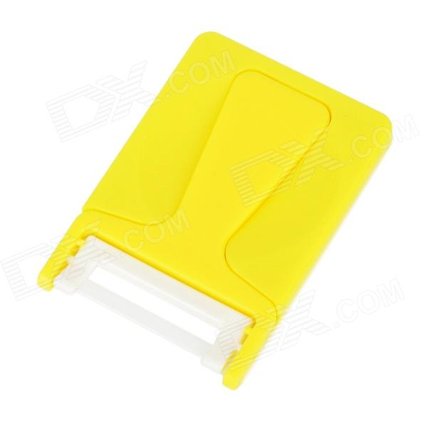 POTENT PG-1308 Card Style Handheld Ceramic Peeler - Yellow 60x40cm height adjustable bedside table fashion movable laptop table multipurpose modern notebook desk