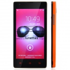 HTM M1 Android 4.1 GSM Bar Phone w/ 4.6' Capacitive Screen, Wi-Fi, Camera - Orange + Black