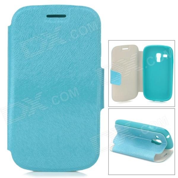 Protective PU Leather + TPU Case w/ Card Holder Slot for Samsung Galaxy S3 Mini i8190 - Green проводной и dect телефон us 6896