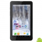 "K9 7"" Android 4.1 Dual-Core Tablet PC w/ 512MB RAM / 4GB ROM / 2 x SIM - Iron Grey + Black"