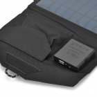 SUNWALK SW-140 14W Dual USB Output Solar Charging Power Bank - Black
