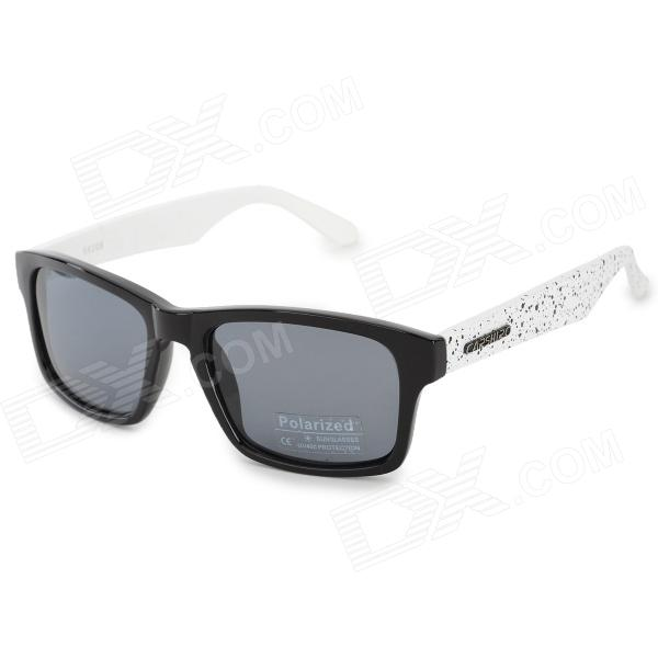 все цены на CARSHIRO E66108 Fashion UV400 Polarized Sunglasses - Black + Grey онлайн