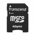 TRANSCEND Micro SD to SD Card Adapter - Black