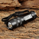 UltraFire WF-602C CREE XR-E Q5 100lm 5-Mode Memory White Flashlight - Black (1 x CR123A / 16340)