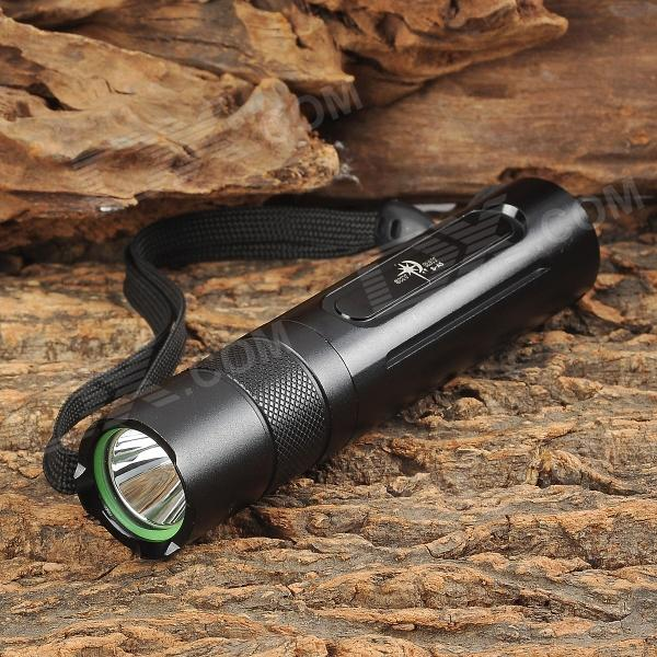 SKY RAY S-A5 120lm 5-Mode Memory White Flashlight - Black (1 x 18650)