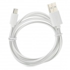 S-What USB to Micro USB Data/Charging Cable for Samsung Galaxy S3 / S4 - Grey + White