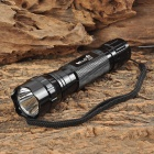 WindFire WF-501B Cree XM-L T6 510lm 1-Mode White Flashlight - Black (1 x 18650 / 2 x 16340)