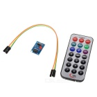 Raspberry Pi Encoding IR RC Module + HX1838+N Receiver Set - Green + Black