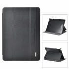 USAMS IPAXK01 Sky Series Protective Flip Open PU + PC Case w/ Stand for Ipad AIR - Black