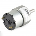 JGB37-520-12V-600RPM Geared Motor - Grey (DC 12V)